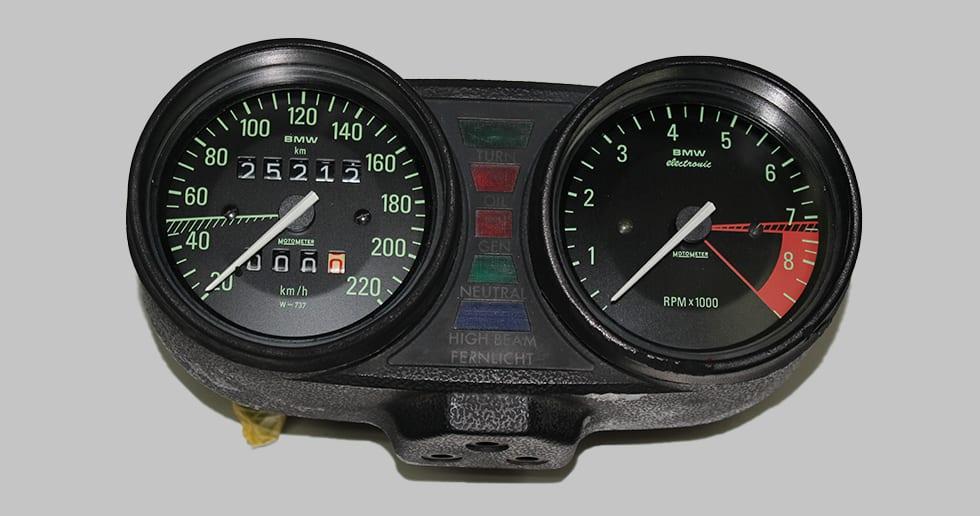 BMW R80 メーター