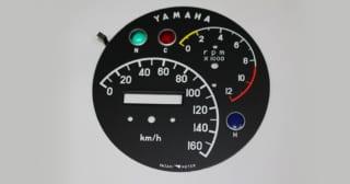 ヤマハYDS-3のメーター
