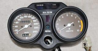 SUZUKI(スズキ)GT380のメーター